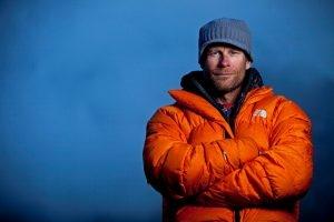 Climbing Legend Conrad Anker