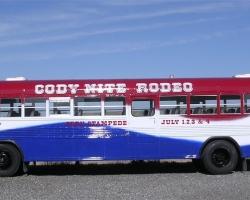 Cody Nite Rodeo Bus 2