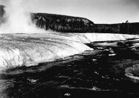 Yellowstone in Black and White 2
