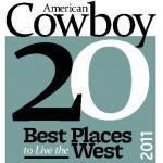 "American Cowboy Magazine names Cody one of the Top 20 Best Places to ""Live The West""! 1"