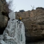 Ice Climbing in Cody/Yellowstone Country 1