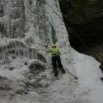Ice Climbing in Cody/Yellowstone Country 2