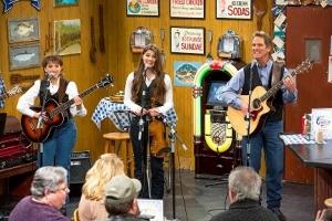 Dan Miller's Cowboy Music Revue performing