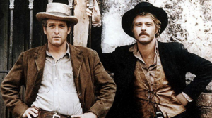 A Promotional still from the film Butch Cassidy and the Sundance Kid