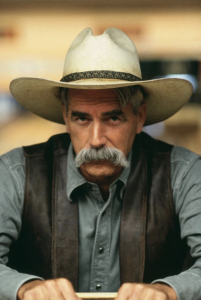 Sam Elliot as The Stranger in The Big Lebowski