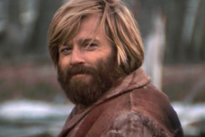 A still of Robert Redford as Jeremiah Johnson.