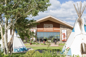 An exterior view of the Buffalo Bill Center of the West