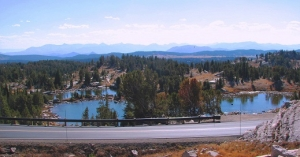 The scenic Beartooth Highway
