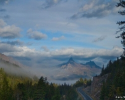 Scenic byways are located between Cody and Yellowstone National Park.
