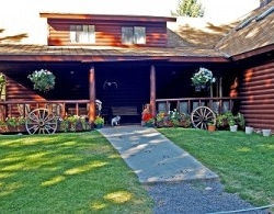 The rustic Blackwater Creek Ranch