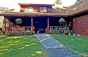 A quaint cabin named Blackwater Creek Ranch