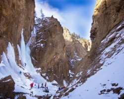 Snowy Caverns