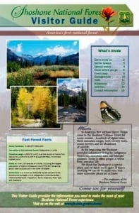 shoshone national forest visitor guide