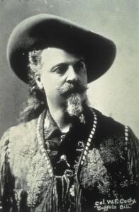 Portrait photo of Buffalo Bill
