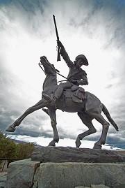 Statue of Buffalo Bill
