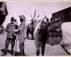 "William F. ""Buffalo Bill"" Cody and Prince Albert I of Monaco"