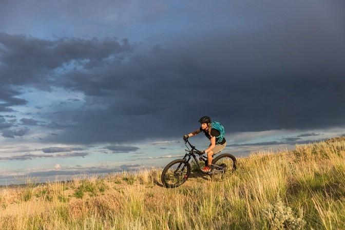 Bicycling in Cody Yellowstone 1