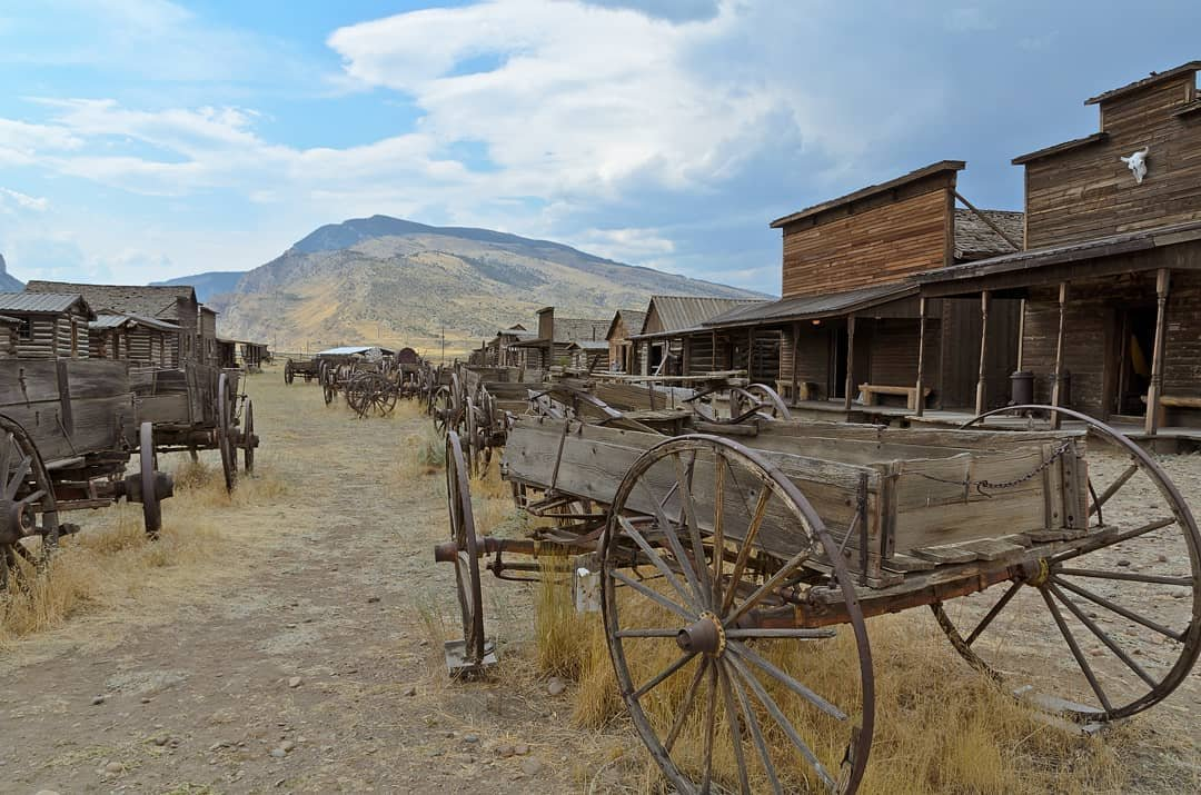Old Trail Town in Cody, Wyoming