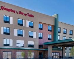 The exterior of Hampton Inn & Suites in Cody