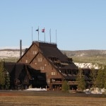 Corrie N. Cody Salutes the Old Faithful Inn! - Cody Yellowstone