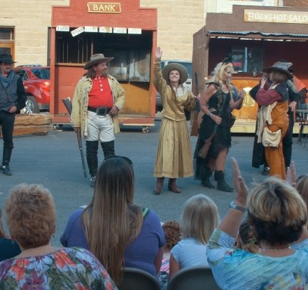 Wild Bunch Gunfighters Show