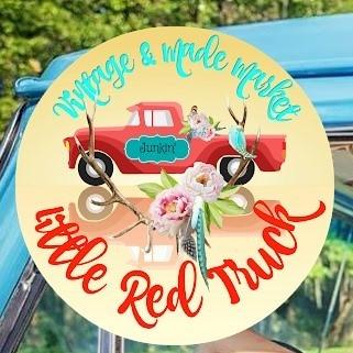 Little Red Truck Vintage Market Logo