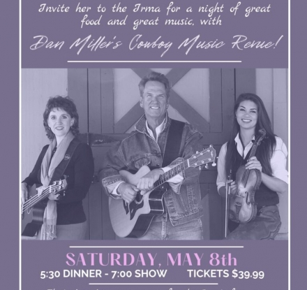 Mother's Day Diner/Show with Dan Miller & The Irma Hotel