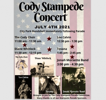 Cody Stampede Concert 1