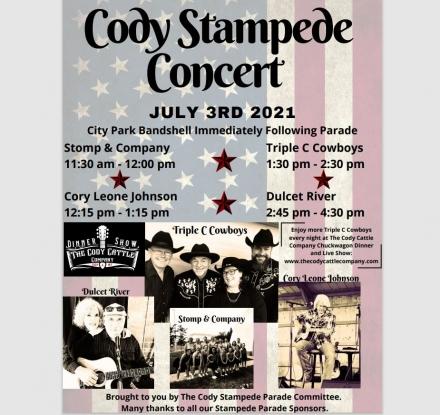 Cody Stampede Concert 2