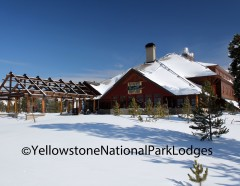 Winter Old Faithful Snow Lodge WM
