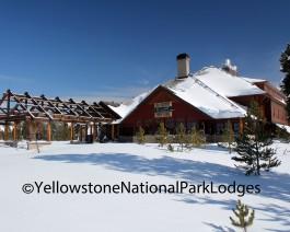 Winter Old Faithful Snow Lodge WM