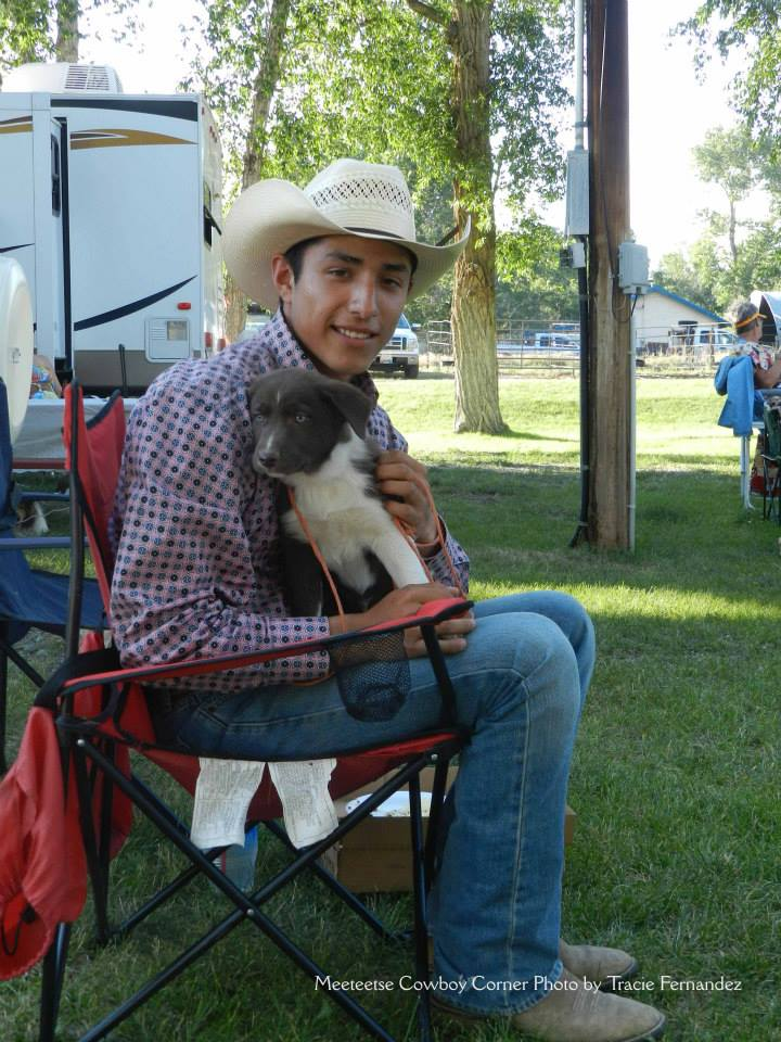 National Day of the Cowboy (Tess, Photo Credit Meeteetse Cowboy Corner Photo by Tracie Fernandez) (2)