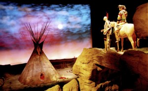 The Plains Indian Museum in the Buffalo Bill Center of the West