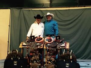 Al Schultz and son-in-law Mark Aragon - World Champion Team Ropers.