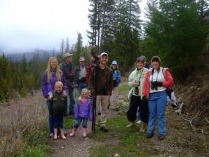 Happy Explorers on Spring Into Yellowstone tour