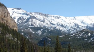 Snow remains in the high country as late as August