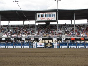 The Cody Nite Rodeo provides two hours of wild west fun