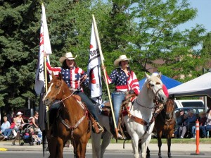 The July 4th Parade is just one of the highlights of the Cody Stampede, July 1-4