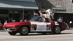 2015 Cody Stampede Parade Grand Marshal Chief Joseph Medicine Crow High-Bird