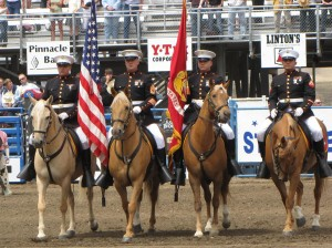 Opening Ceremonies of the Cody Stampede Rodeo
