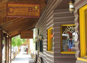 The Cowboy Bar in Meeteetse where Butch was arrested