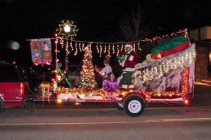 The Lighted Christmas Parade is a popular evening event