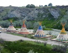 tipi village enhanced
