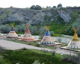tipi village enhanced