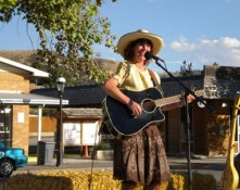 Gypsy Cowbelle Performing on Cowboy Day