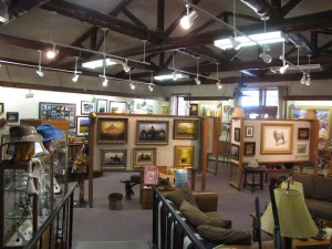 See original works of art by local artisans in the Cody Country Art League