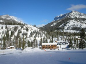 Sleeping Giant Lodge is nestled in the Absaroka Mountains