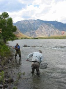 Fishing is a popular pastime in Cody/Yellowstone Country