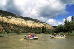 Rafting on the Shoshone River in Cody/Yellowstone Country