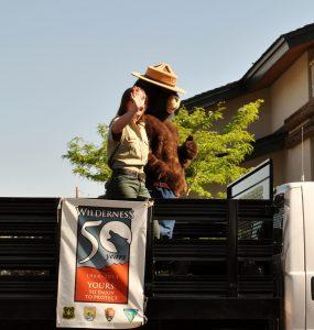 Smokey the Bear in Cody/Yellowstone Country.